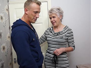 Mom and granny get hard sex with boys