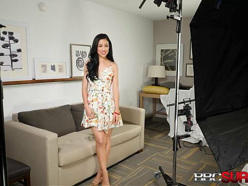 Young Asian American Mia Gets Dark Dicked In Her First Porn!