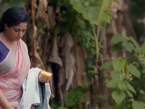 Indian Actress Kavya Madhavan, MILF, Nude Boob Squeezing Scene