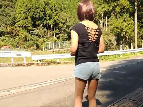 Tucked Asian CD Outdoor Piss