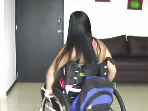 Wheelchair babe 6