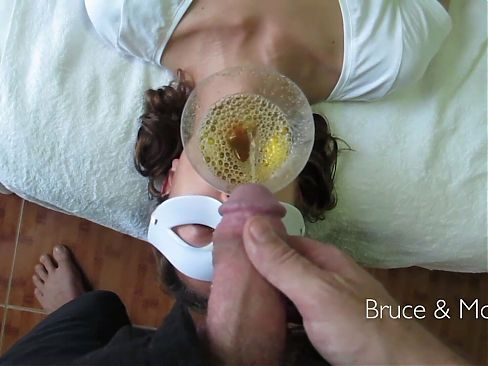 What an incredible piss swallower. Real bitter kind. No gag.
